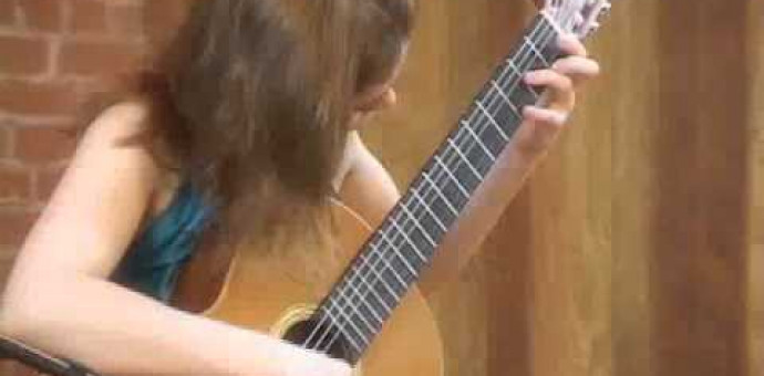 Johann S. Bach: Sonata No. 1 (BWV 1001) – Classical Guitar