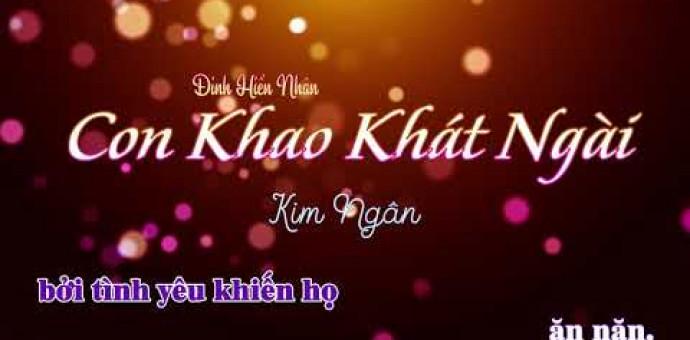 Con Khao Khát Ngài