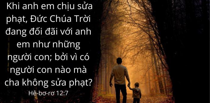 Lời Chúa Mỗi Ngày: Hê-bơ-rơ 12:7