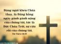 Lời Chúa Mỗi Ngày: Thi Thiên 68:19