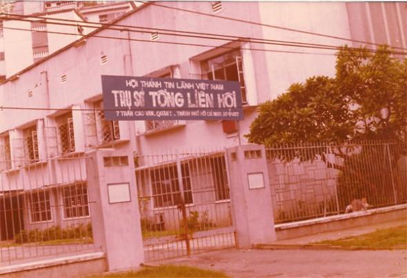 ベトナム政府に没収されたTran Cao Vanプロテスタント教会