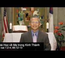 Mục sư Đặng Ngọc Báu: Bài Học Về Mẹ Trong Kinh Thánh