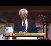 Mục sư Nguyễn Thỉ: Bình An Trong Tâm Hồn
