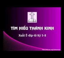 Tìm Hiểu Thánh Kinh: Sách Xuất Ê-díp-tô – Chương 5-8
