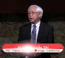Mục sư Nguyễn Thỉ: Kỷ Niệm Chúa Giáng Sinh