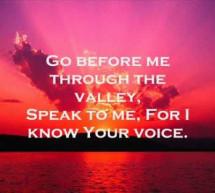 Hear me calling, Great Redeemer