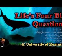 Ravi Zacharias: Bốn Câu Hỏi Quan Trọng Nhất Trong Cuộc Đời