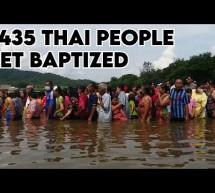 Thái  Lan: Lễ Báp-têm Cho 1435 Người