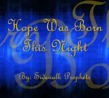 Hope Was Born This Night