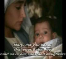 Mary Did You Know – Mary Nàng Có Biết