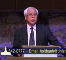 Mục sư Nguyễn Thỉ: Nhướng Mắt Lên