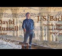 Johann S. Bach: BWV 998 – Classical Guitar