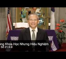 Mục sư Đặng Ngọc Báu: Không Khoa Học Nhưng Hiệu Nghiệm