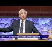Mục sư Nguyễn Thỉ: Theo Chúa Dễ Hay Khó