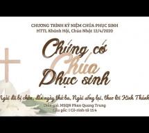 Thánh Lễ Phục Sinh: Hội Thánh Khánh Hội