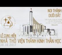 Chương Trình Lễ Cung Hiến Nhà Thờ Của Viện Thánh Kinh Thần Học