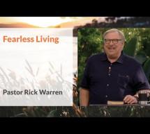 Rick Warren: Sống Không Sợ Hãi