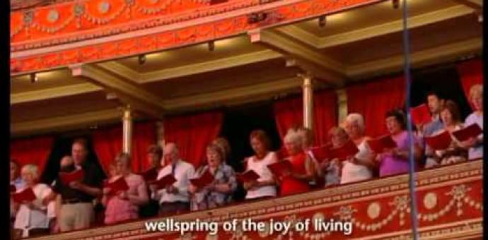 Thánh Ca: Vui Mừng Tung Hô Chúa – Joyful, Joyful, We Adore Thee