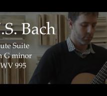 Johann Sebastian Bach: Suite BWV 995 G Minor – Classical Guitar