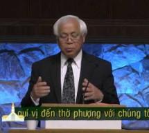 Mục sư Nguyễn Thỉ: Tận Hiến