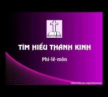 Tìm Hiểu Thánh Kinh: Sách Phi-lê-môn