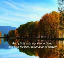 Thánh Ca: Giờ Dịu Êm – Sweet Hour of Prayer
