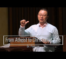 From Atheist to Christian At Yale