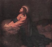 Hội Họa:  Tranh Chúa Cầu Nguyện