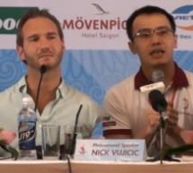 Nick Vujicic Trở Lại Việt Nam.