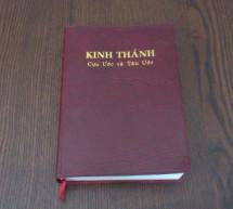 Thông Báo:  Bản Dịch Kinh Thánh 2011 – Ấn Bản 2016