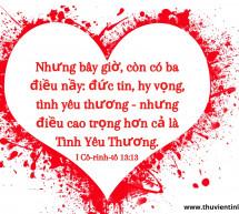Lời Chúa Mỗi Ngày: I Cô-rinh-tô 13:13