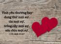 Lời Chúa Mỗi Ngày: I Cô-rinh-tô 13:7