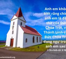 Lời Chúa Mỗi Ngày: I Cô-rinh-tô 3:16