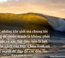 Lời Chúa Mỗi Ngày: II Cô-rinh-tô 10:4