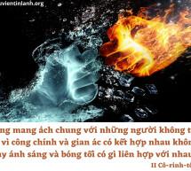 Lời Chúa Mỗi Ngày: II Cô-rinh-tô 6:14