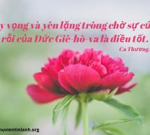 Lời Chúa Mỗi Ngày: Ca Thương 3:26