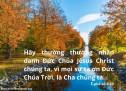 Lời Chúa Mỗi Ngày: Ê-phê-sô 5:20
