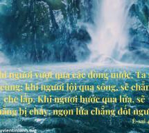 Lời Chúa Mỗi Ngày: Ê-sai 43:2