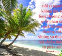 Lời Chúa Mỗi Ngày: Gia-cơ 2:13
