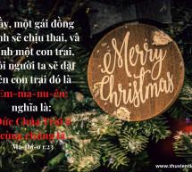 Lời Chúa Mỗi Ngày: Ma-thi-ơ 1:23