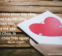 Lời Chúa Mỗi Ngày: Ma-thi-ơ 22:37