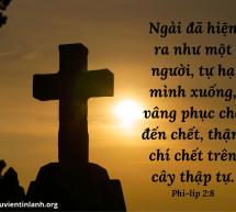 Lời Chúa Mỗi Ngày: Phi-líp 2:8