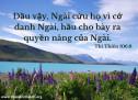 Lời Chúa Mỗi Ngày: Thi Thiên 106:8