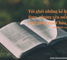 Lời Chúa Mỗi Ngày: Thi Thiên 119:113