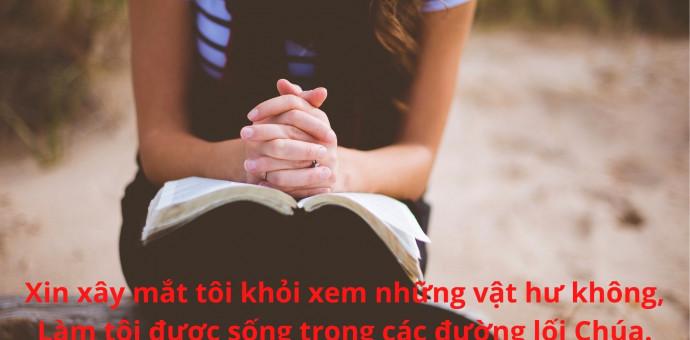 Lời Chúa Mỗi Ngày: Thi Thiên 119:37