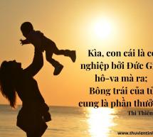 Lời Chúa Mỗi Ngày: Thi Thiên 127:3