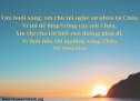 Lời Chúa Mỗi Ngày: Thi Thiên 143:8