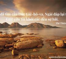 Lời Chúa Mỗi Ngày: Thi Thiên 34:4