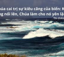 Lời Chúa Mỗi Ngày: Thi Thiên 89:9
