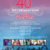 Thông Báo: Chương Trình 40 Năm Biết Ơn Và Hy Vọng (1975-2015)